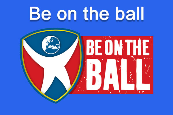 Be on the ball