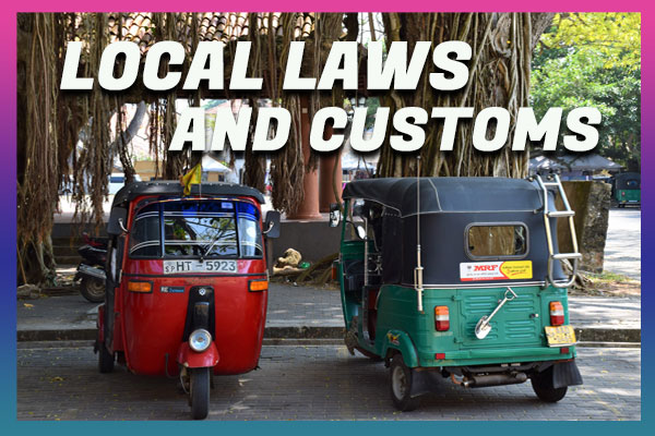 Local Laws and Customs